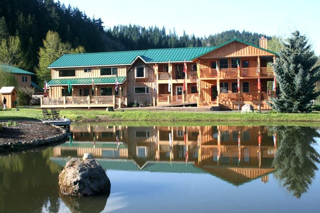Trout Lake Abbey - Trout Lake