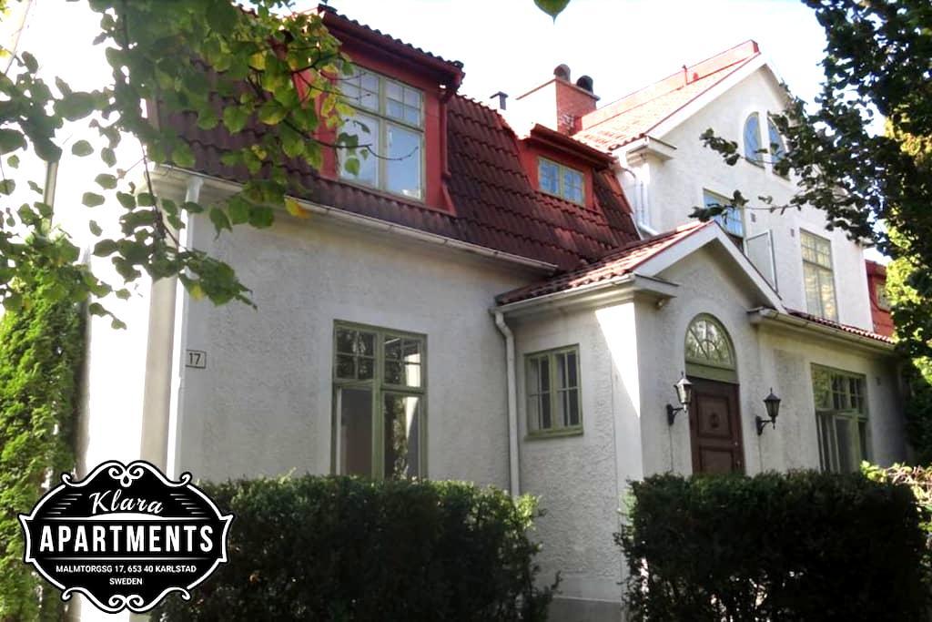 Klara Apartments - Apt. 2 - Karlstad - Huoneisto