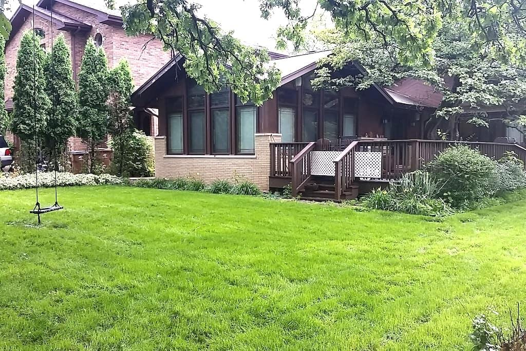 Ranch Style Home Master BR - North Riverside