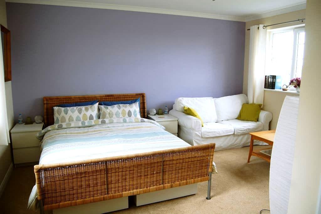 Double en-suite room - Winchester - Rumah
