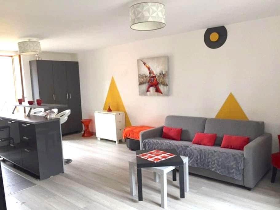 F3 en Duplex avec jardin. Hyper-Centre.20mn Paris - Palaiseau - Departamento