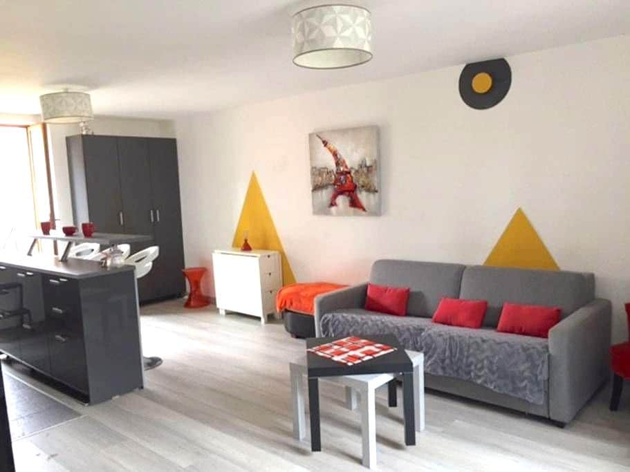 F3 en Duplex avec jardin. Hyper-Centre.20mn Paris - Palaiseau - Flat