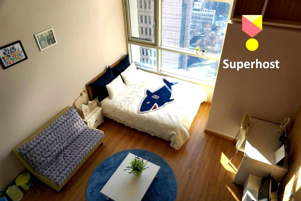 Modern duplex studio in Daegu City - Чун-гу