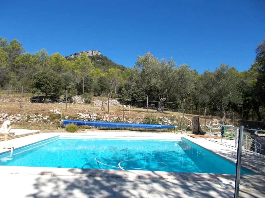 La nature et le calme - Lauret - Villa