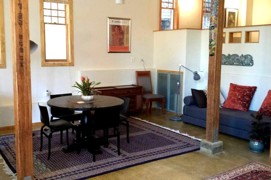 Adam's Point loft w/gated parking - Oakland - Loft