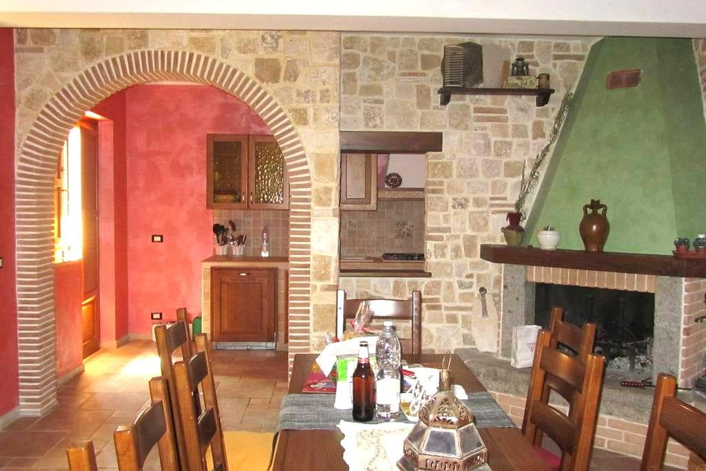 """Mini appartamento """"Monte Calvo"""" - Scoppito - Huis"""