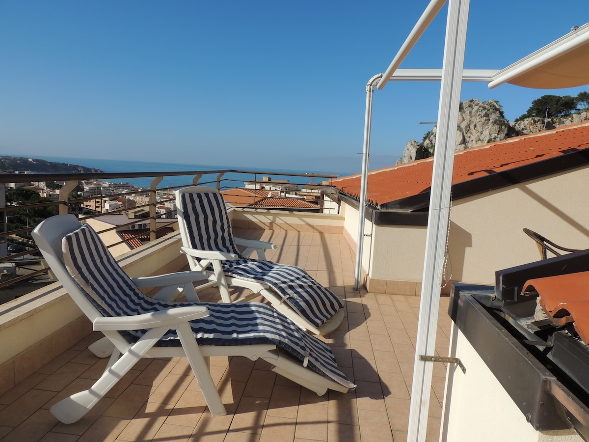 Attico Brancati Terrace sea view