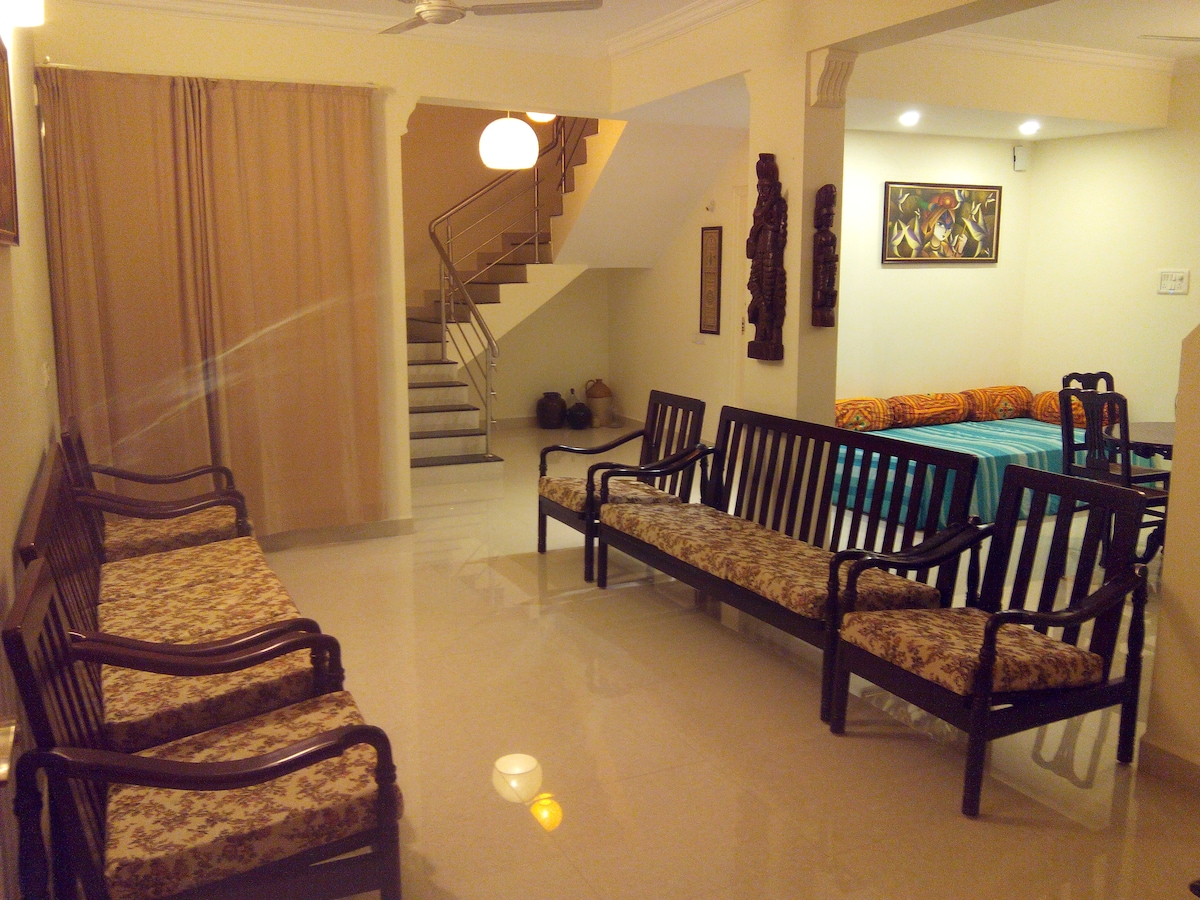 4BHK Duplex Penthouse with terrace.