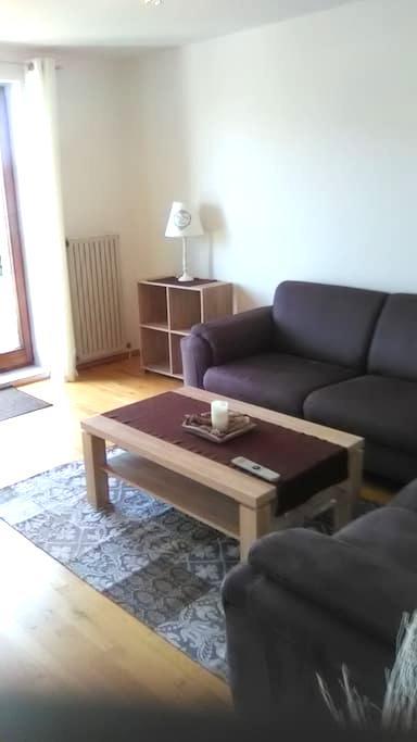 Schöne helle Wohnung nahe Dreiländeck & Uniklinik - Aachen - Apartamento