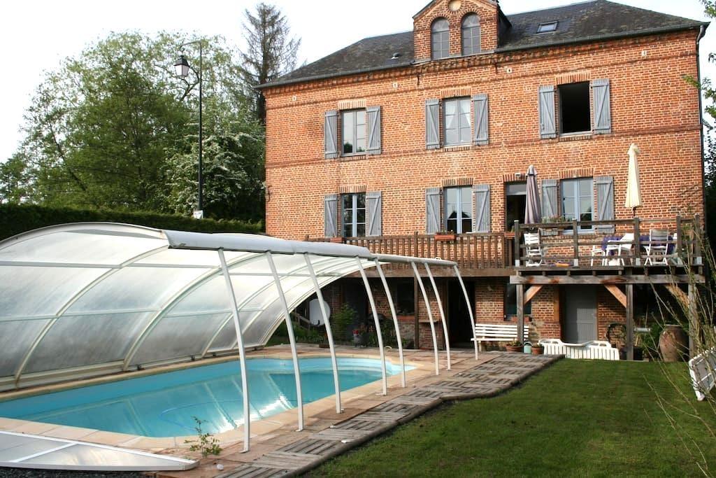 Maison de caractère en Pays d'Auge - Blangy-le-Château - Hus
