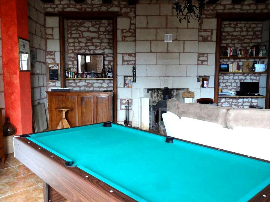 2 Chambres proche de La Roche Posay - Coussay-les-Bois - บ้าน