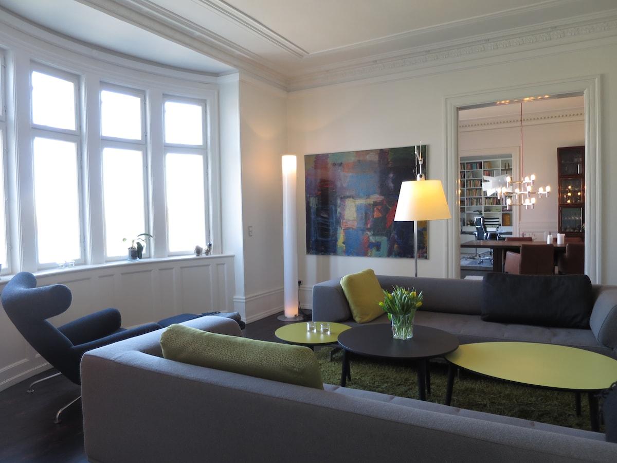 270 m2 luxury flat, stunning view
