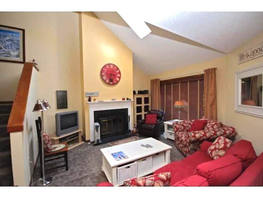 Cozy Condo For Skiing-Hiking-Biking Lovers - West Windsor - Condominio