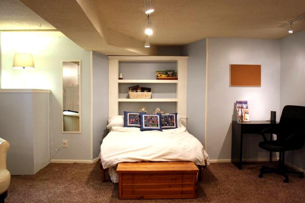 Garden Studio Apartment close to Convention Center - Minneapolis - Apartment