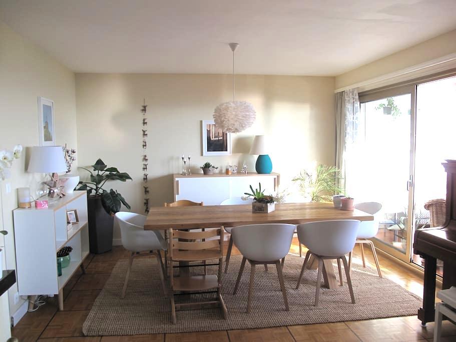 Appartement lumineux avec vue, Vevey, Riviera, CH - Corseaux