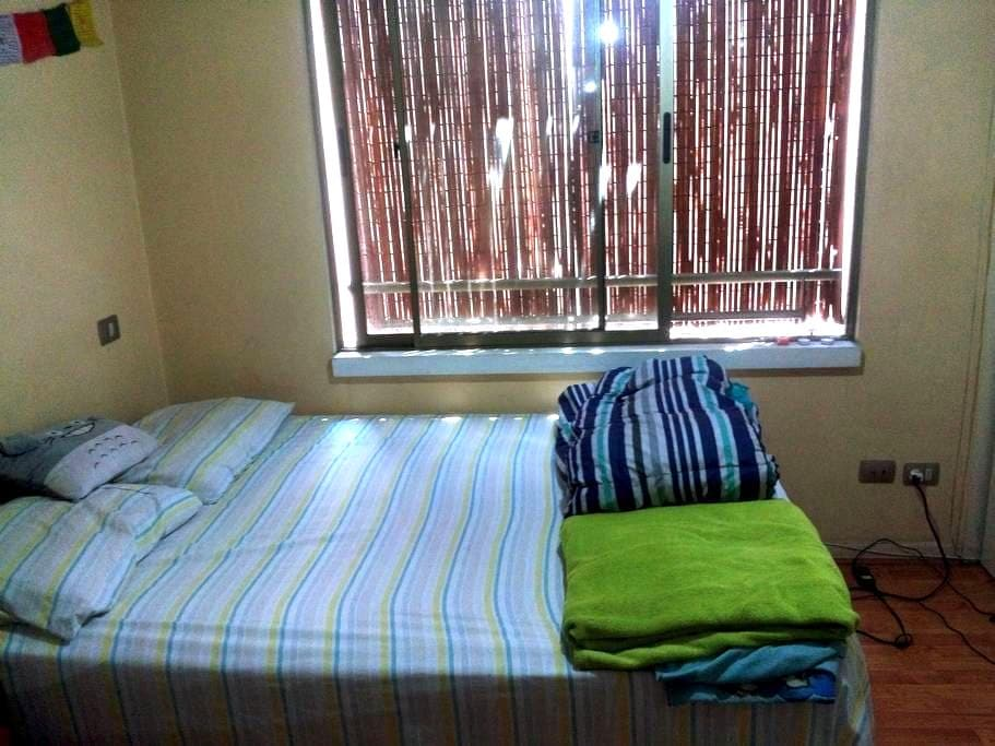 Spacious room with private bathroom in Santiago - Santiago - Apartment