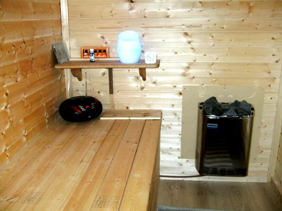 Vakantiewoning Limburg met sauna - Herk-de-Stad