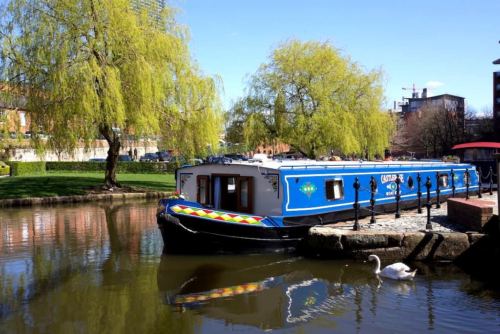 CASTLEROSE Boat Stay - Castlefield Basin - Manchester