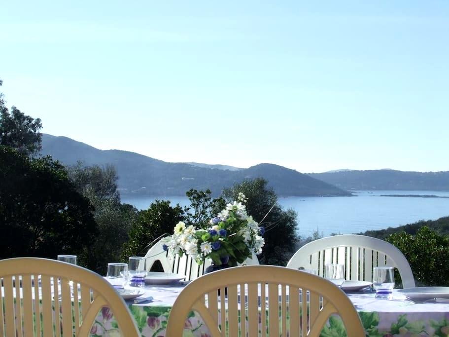 Rez de villa vue mer 2 min plage - Pietrosella