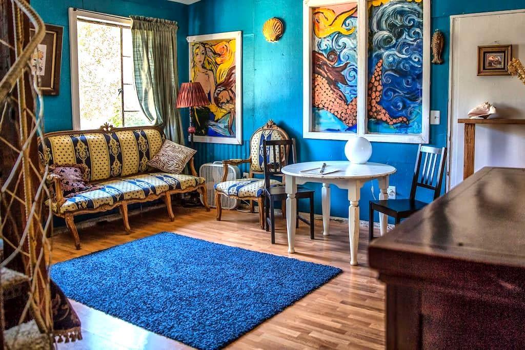 Artistic Topanga Mermaid Suite  - Topanga - Departamento