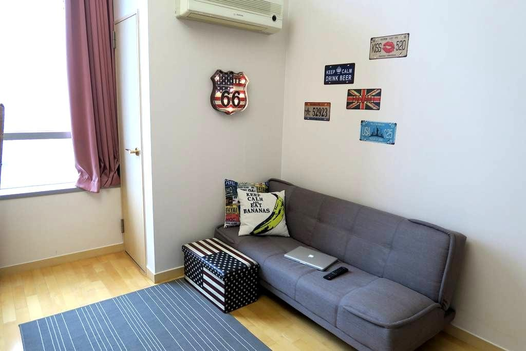 Cozy studio in heart of Gwangju - Seo-gu - Lejlighed