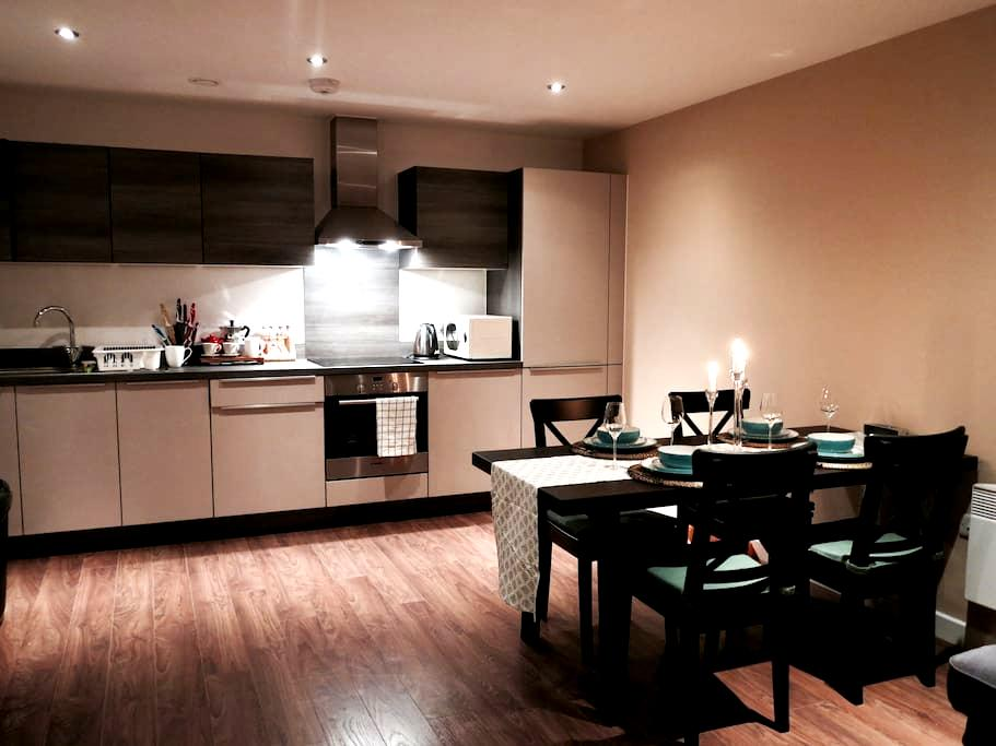 Homely double near Spinningfields - Salford - Appartement