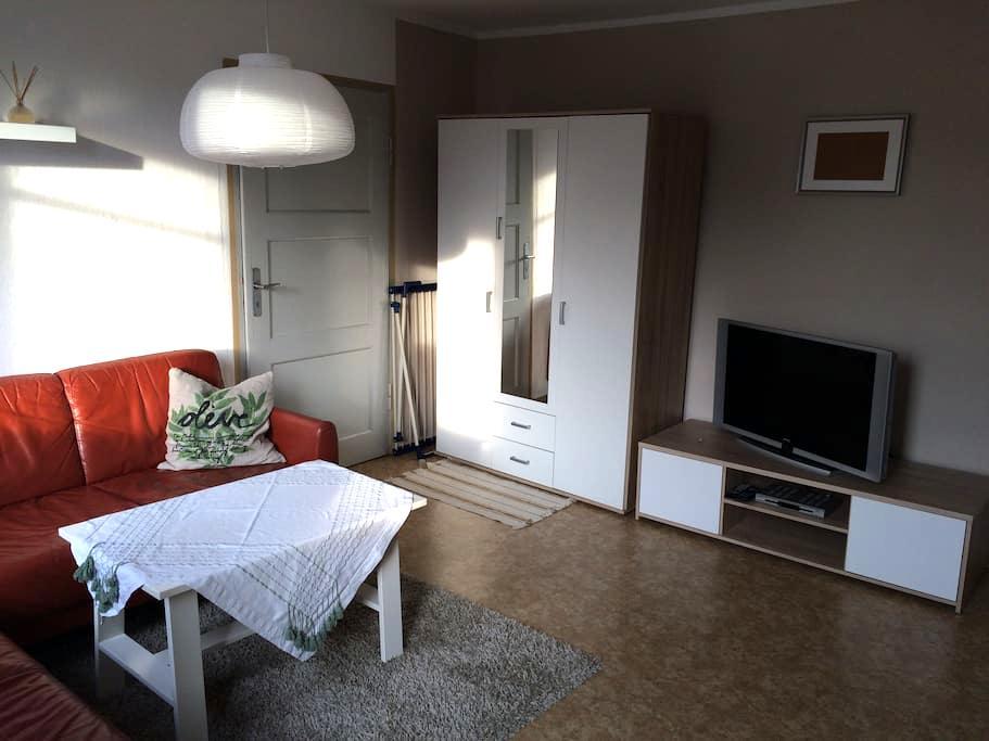 Zentrale Wohnung mit Charme - Weimar - Apto. en complejo residencial