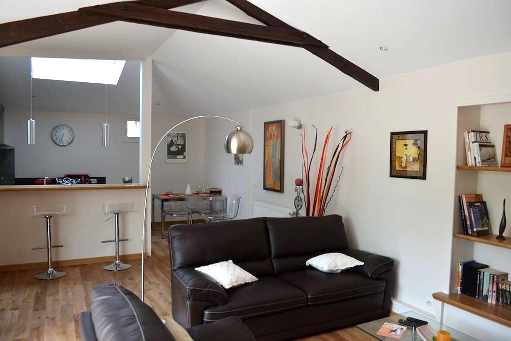 Gite 4* aux portes d'Angoulême - Balzac - Haus