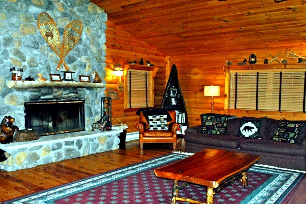 Adirondack Lake Cabin - Lake Placid