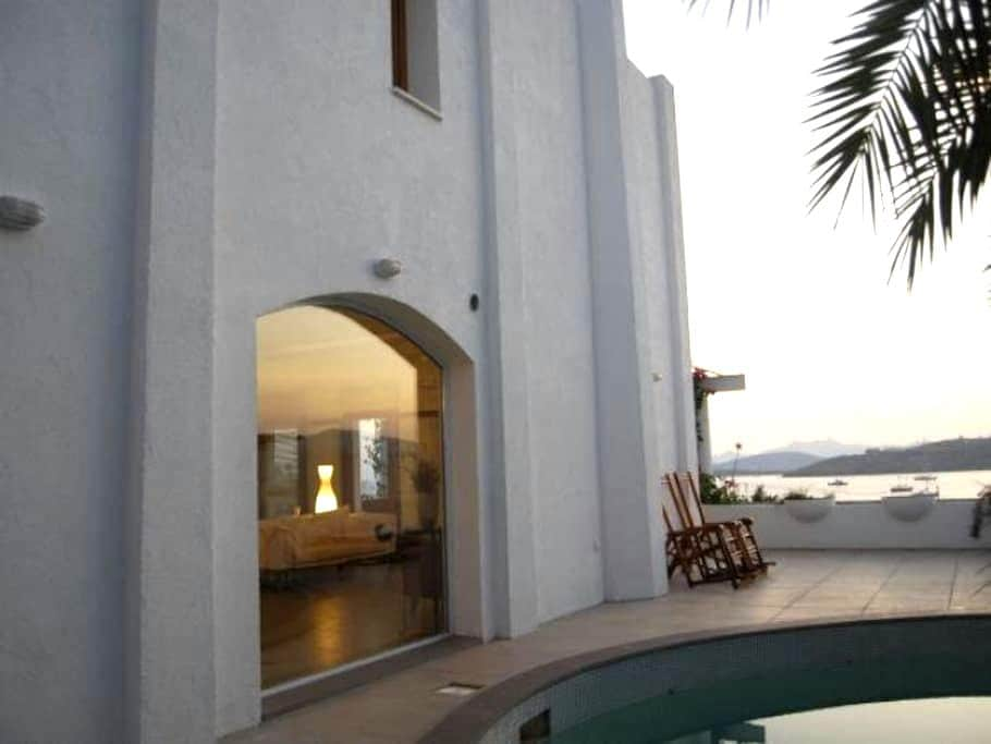 Luxury apt with priv. pool and view - Bodrum