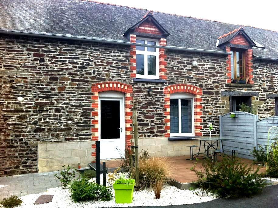 Chambre au calme à Brocéliande - Néant-sur-Yvel - Casa