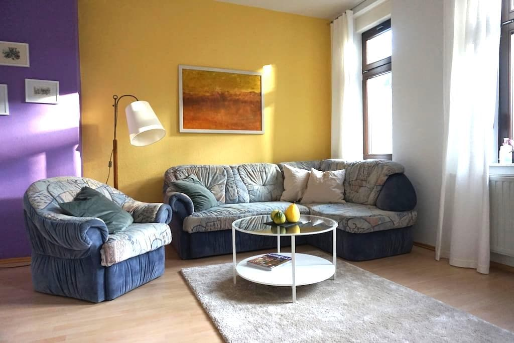 Schöne Wohnung am Stadtpark - Erfurt - Lägenhet