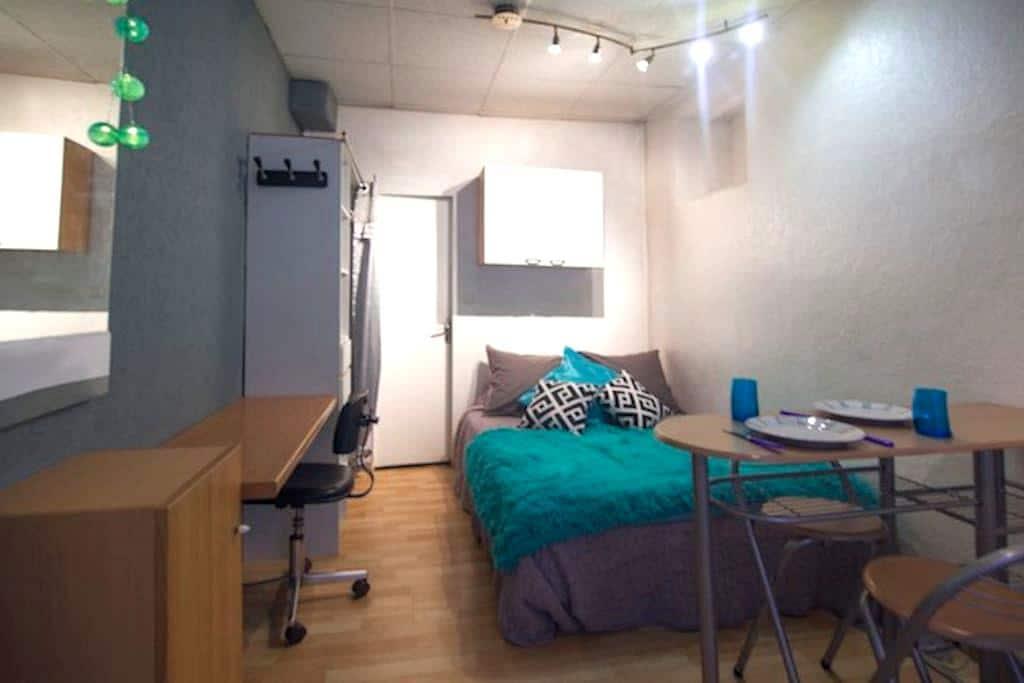 Studio Hypercentre Clermont 1er Etage - Clermont-Ferrand - Leilighet