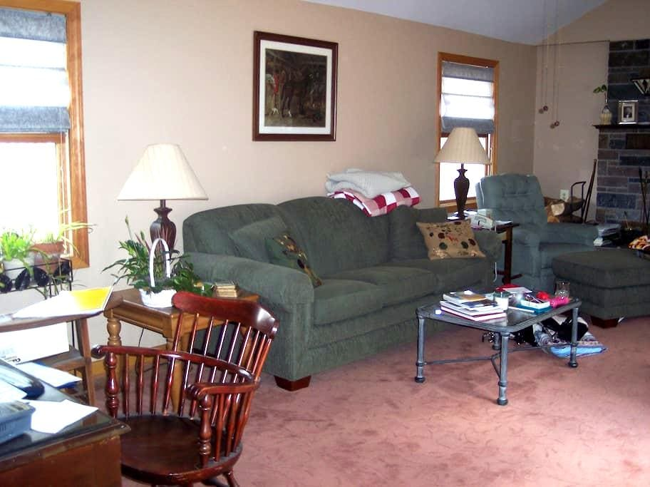 Comfortable and quiet room. - Belchertown