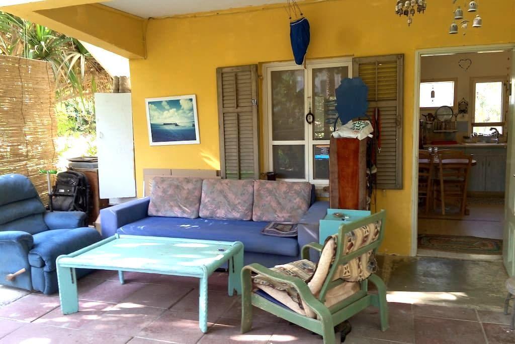 Patricia & Eilam house - Dead sea Ein Gedi oasis - Ein Gedi - House