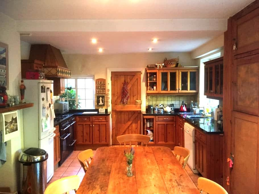 Double bedroom in a large family house near Gatwick - Haywards Heath - Haus