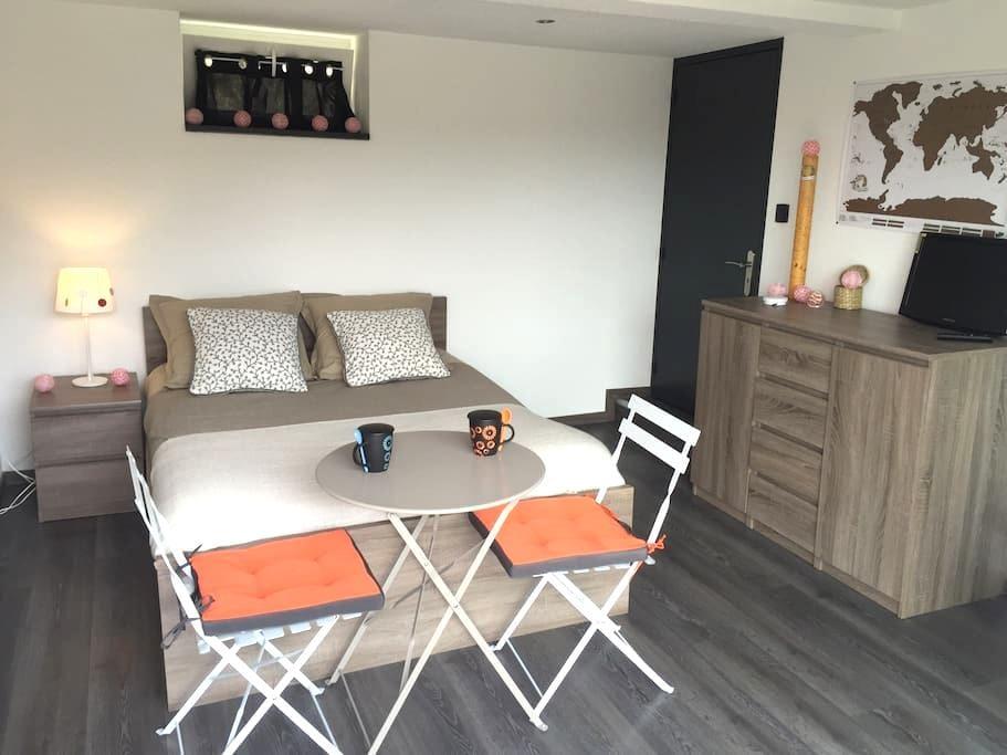 Belle chambre au calme - Ribeauville - Casa
