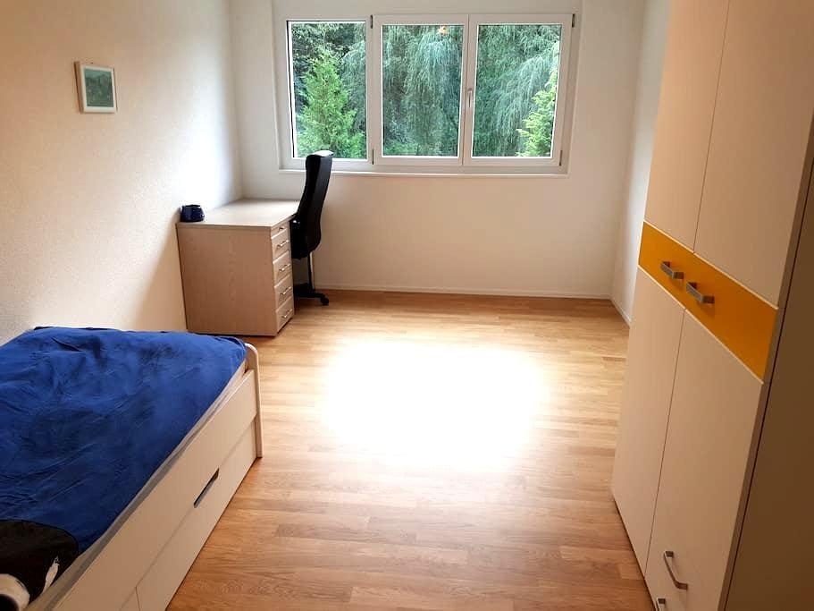 Zimmer mit eigenem Bad nahe Bahnhof Rupperswil - Rupperswil - Daire