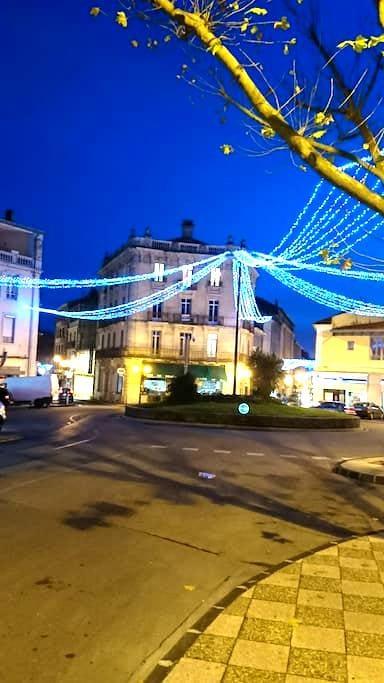 Bel appartement bourgeois 130m² coeur de ville - Alès - Leilighet