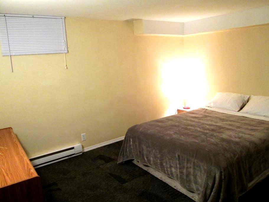 2 Bedroom Basement Suite - Winnipeg - Daire