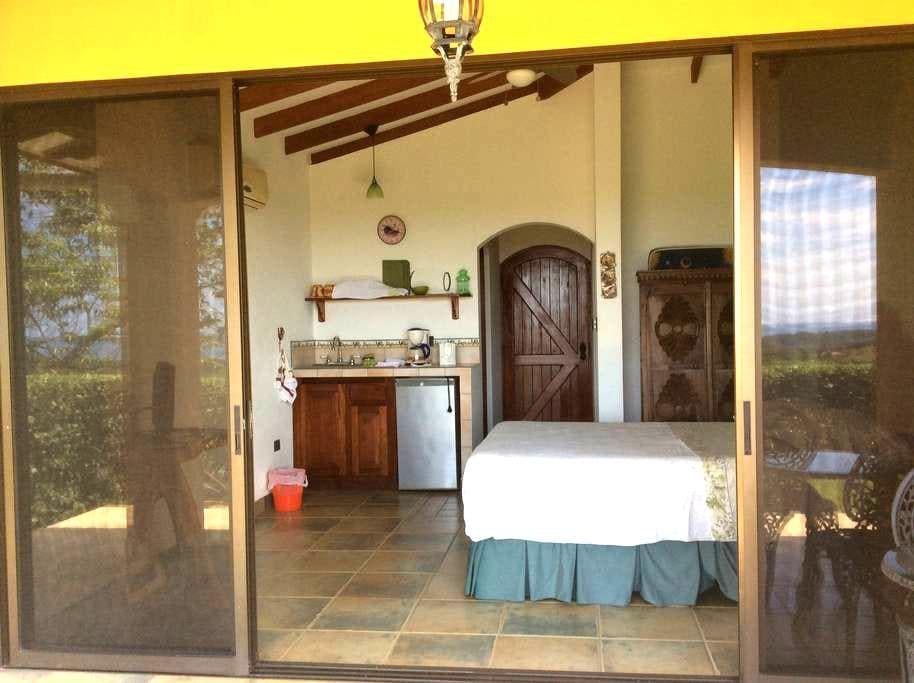 Bedroom#1,UVITA,CR, Ocean View,A/C - Uvita - Bed & Breakfast
