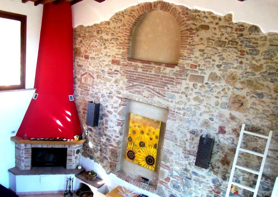 CasaJonaHoliday Tuscan counrtryside - Poggibonsi - House