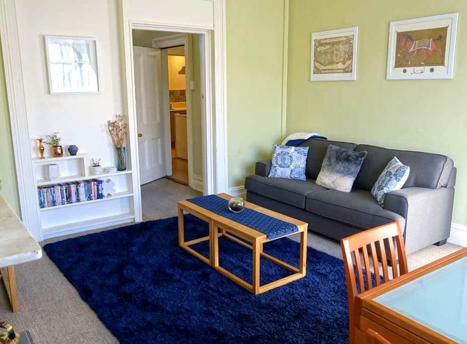 Inner City Character 2 Bedroom Victorian Apartment - Dunedin - Daire