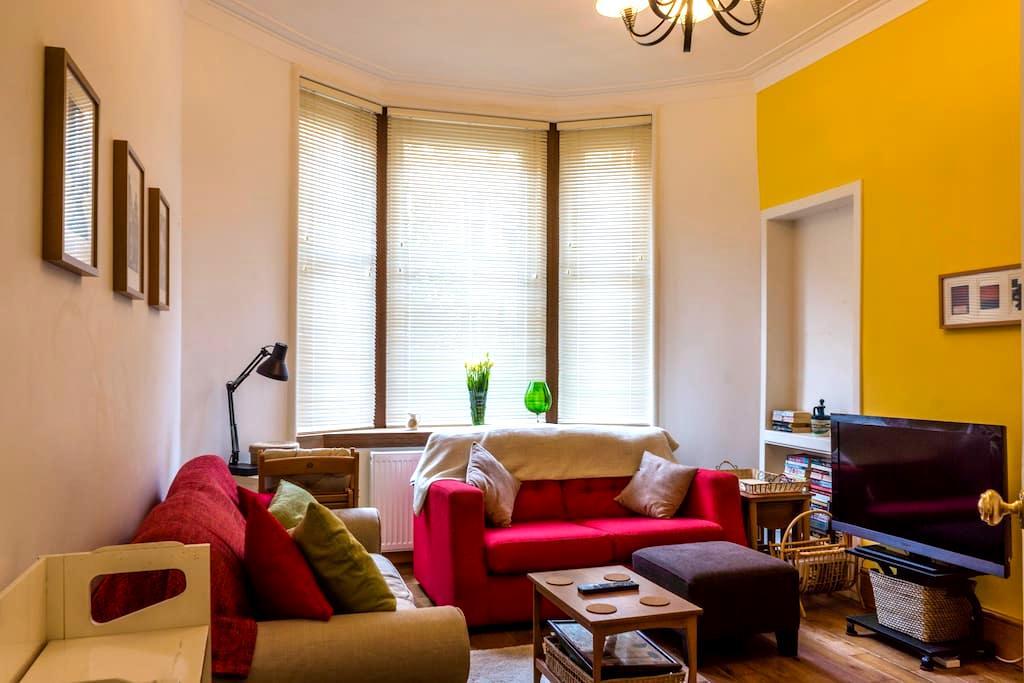 Comfortable Riverside Flat - Glasgow - Apartment