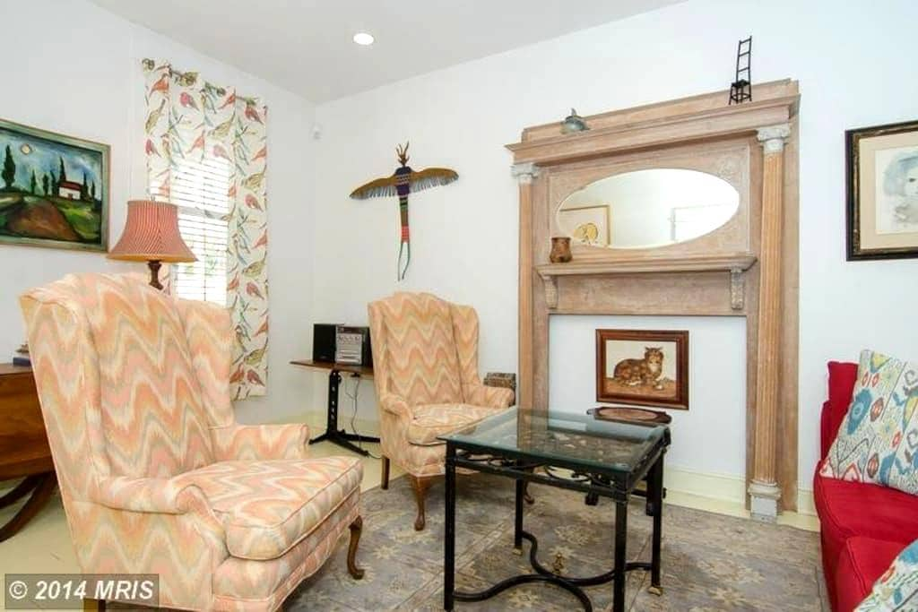 Stylish Downtown Annapolis Apartment(with parking) - Annapolis - Apartment
