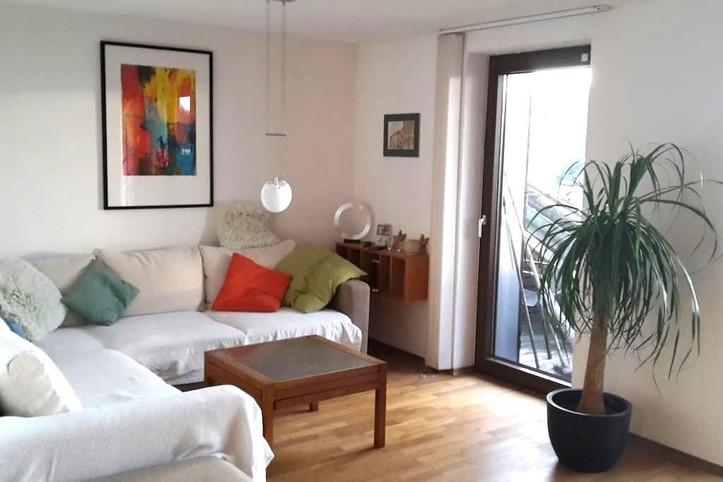Wohnung mit Weitblick - Hattenhofen - Appartement