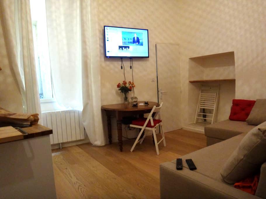 studio new , quality ,calm ,for 2 / 3 pers - Niza - Departamento