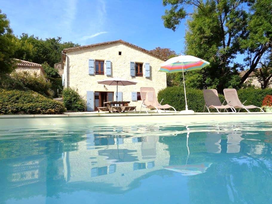 Maison de Campagne avec piscine à Valprionde - Valprionde - Hus
