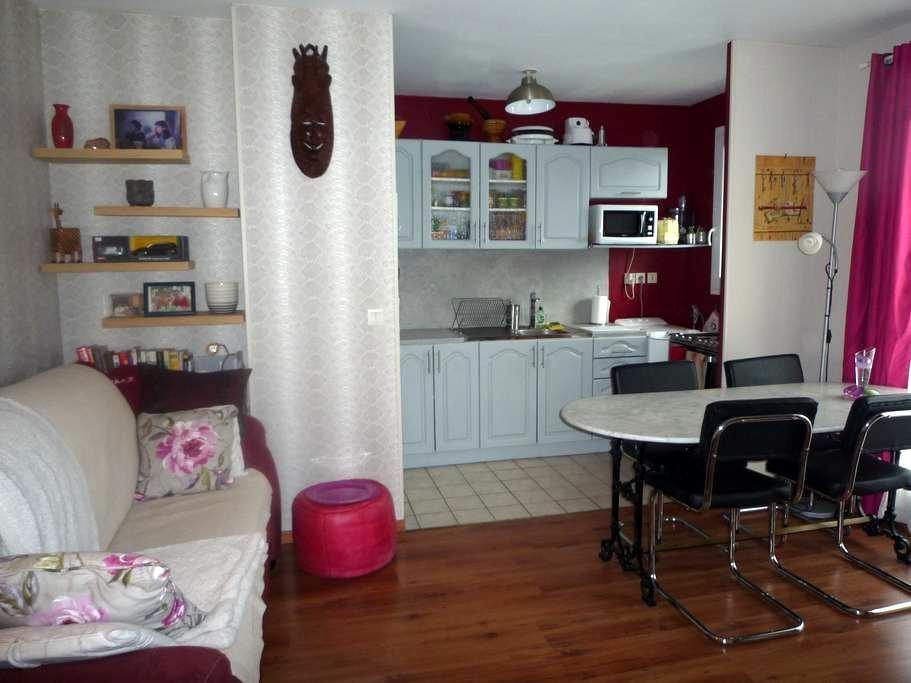 Bel appartement 2 pieces 40m2 tout confort. - Chelles - Apartment