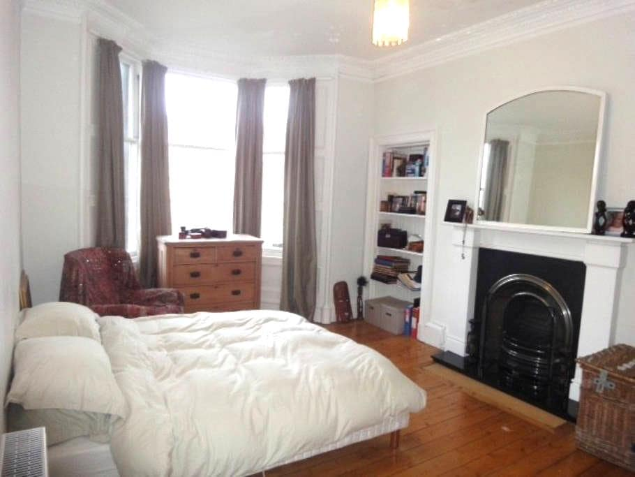 Comfy, spacious flat - Édimbourg - Appartement